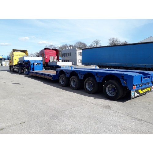 Low bed semi-trailer FAYMONVILLE STBZ-4VA