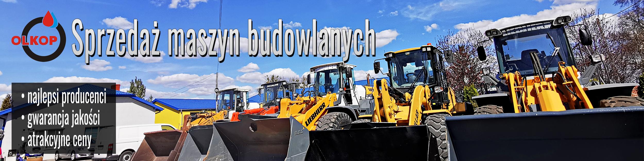 Maszyny budowlane - sprzedaż