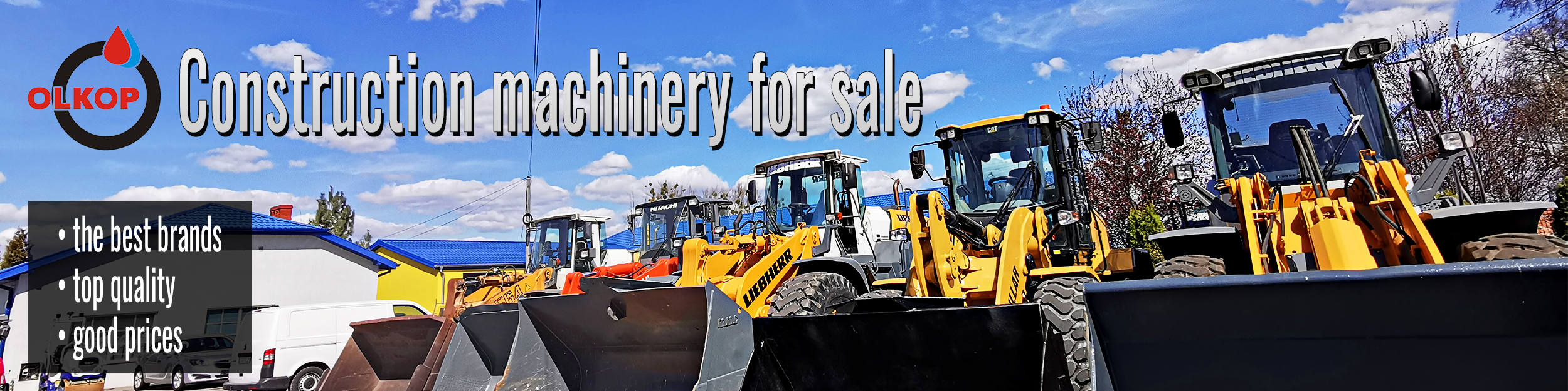 Construction machinery for sale